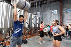 Join us each month for some fun events - Beer & WOD, beach days, regionals, baby showers, and so much more!